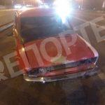 Не заметил ремонтных работ: в Днепре во время ДТП пострадали две девушки