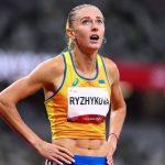 Легкоатлетка Анна Рыжикова из Днепра взяла «серебро» на «Брилллиантовой лиге» в Париже