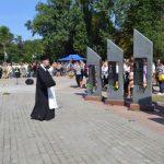 В Желтых Водах открыли памятник погибшим в АТО воинам
