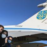 В Україну прибув літак із людьми, евакуйованими з Афганістану