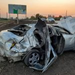 В Днепре неадекватный водитель вылетел в овраг, а потом оскорблял полицейских