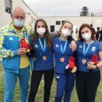 Вилена Бевз из Днепра завоевала «бронзу» на Чемпионате мира по стрельбе среди юниоров