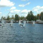Яхтсмены из Днепра выиграли юниорский Чемпионат Украины по парусному спорту