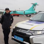 Патрульные полицейские в Запорожье помогли спасти жизнь девочке