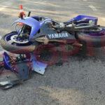 В Днепре мотоциклист пострадал в ДТП с Honda-CRV
