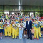 Дефлимпийцы области привезли из Турции 23 медали
