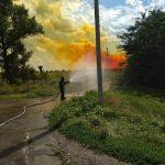 Утечка кислоты и ядовито-оранжевое облако: под Днепром по трассе растеклось химическое вещество, — ФОТО, ВИДЕО