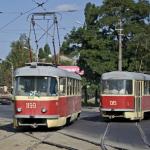 В Днепре несколько трамваев изменят свой маршрут: когда и какие